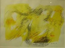 2004, Lichtgestalt, 40x50cm