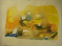 2011,Dorf 4,40 x 50 cm,