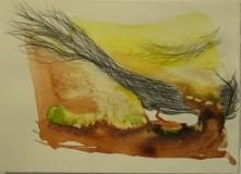 2011, Vision, mit Bleistift, 20x30cm