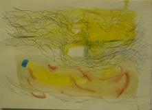 2011,freier Flug,20 x 30 cm