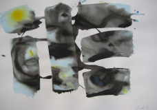 2015, Gestalt, Aquarell, 42 x58 cm