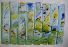 2015, Wasserspiel 2, Aquarell, 42 x 58 cm