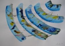 2015, Windharfe VI, Aquarell, 42 x 58 cm