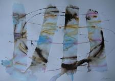 2015, DerTanz, Aquarell, 42 x 58 cm