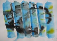 2015, Windspiel 3, Aquarell, 42 x 58 cm