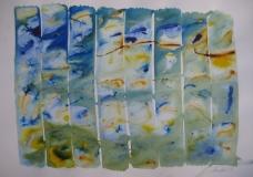 2015, Windspiel 6, Aquarell, 42 x 58 cm