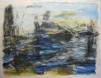 2000,Landschaft,50 x 70 cm