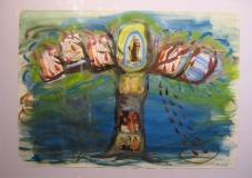 2006,Kreuzbaum,50 x 70 cm (2)