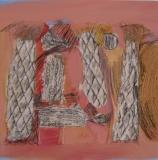 2012,cucina 4,Collage,LW,40 x 40 cm