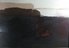1983,MorgenstimmungCollage,Karton 70 x 100 cm