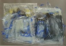 1995,Aufbruch, , Collage, 70x100cm
