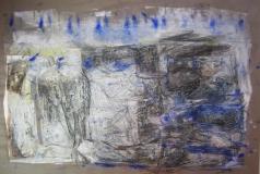 1998,Mauer,60 x 80 cm