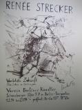 1993,Plakat zur Ausstellung verletzte Zukunft,100 x 70 cm