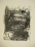 1998.Geäst,Gestalten, Lithographie, 70x50cm