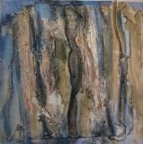2000, Spuren, 50x50cm