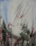 2000, im Licht, Öl, LW, Holz, 30x25cm