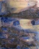2002, Dünen, Öl, Sand, LW, 150x120cm