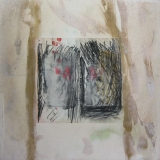 2003, Botschaft, 50x50cm