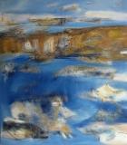2010, Sandbank, 150x120cm