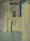 1980, Wege, Öl, Papier, LW, 100x70cm