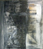 1989, Mauersiegel, Öl, Sans, Papier, LW, 180x160cm