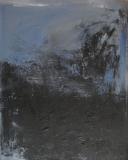 1991, sound of silence, Öl auf Holz, 100x80cm