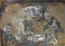1994, o.T; Öl, Holz, 50x70cm