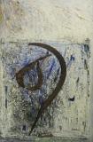 1995, Ernte, Öl, Stoff, Eisen, 35x25cm