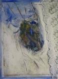 1998, am Fenster, 40x35cm