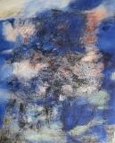 2005, Metamorphose, Öl, Sand, LW, 150x120cm