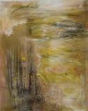 2009, Sandklang, Öl, Sand, LW, 150x120cm