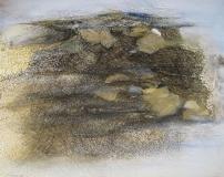 2009, Sylt, Öl, Sand, LW, 120x150cm
