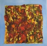 2010, Capriccio II, Öl auf LW, 120x120cm