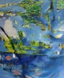 2012, Berlin Tiergarten, Öl auf LW, 150x120cm