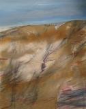 2012, Düne, Öl, Sand LW, 150x120cm