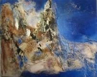 2012, formazione, Öl, Sand auf LW, 120x150cm