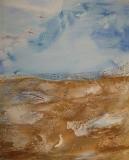 2012, rotes Kliff, 150x120cm