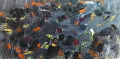 2014, passaggio, Öl, LW, 100x200cm