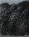 2010, Gestalt I, Öl hinter Glas auf LW, 50x40cm