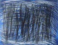 2010, Meditation, Öl, Glas, LW, 40x50cm