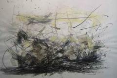 1993, Landschaft II, 50x70cm