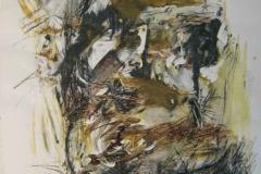 1995, Geste II, 70x50cm