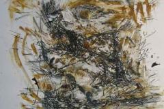 1995, Geste I, 70 x50cm