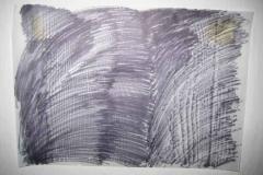 2010, Block, Frottage, Faserstift, 50x60cm